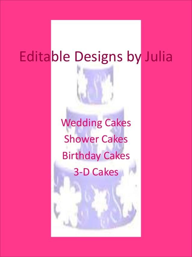 Editable designs by julia pp cake slides