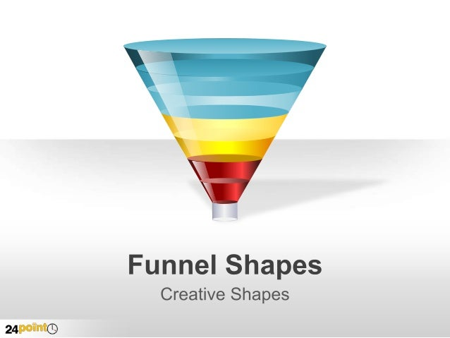 Editable PPT Funnel Images