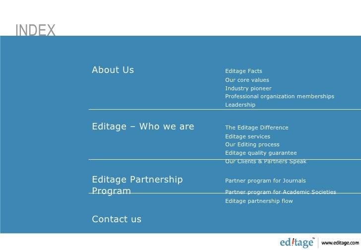 Editage Partners Program