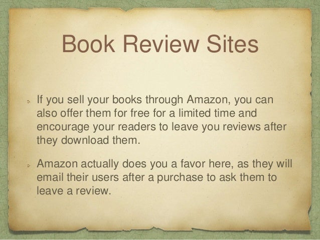 Online book reviews