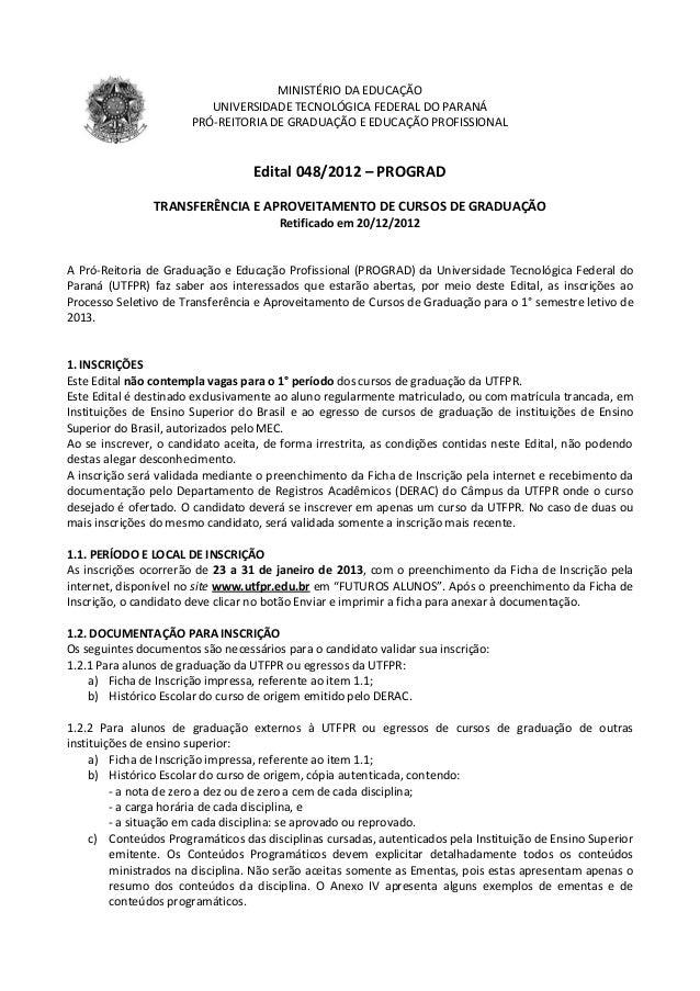 Edital 048 2012 tranf grad 2013-1 - 04 01 13