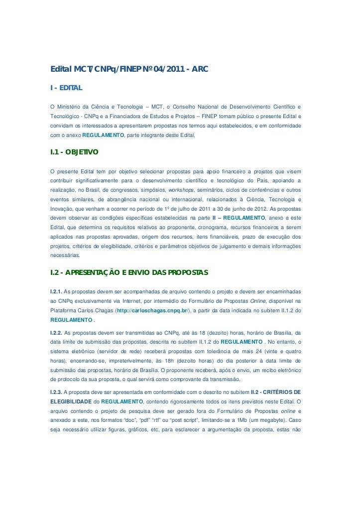 Edital cn pq 004