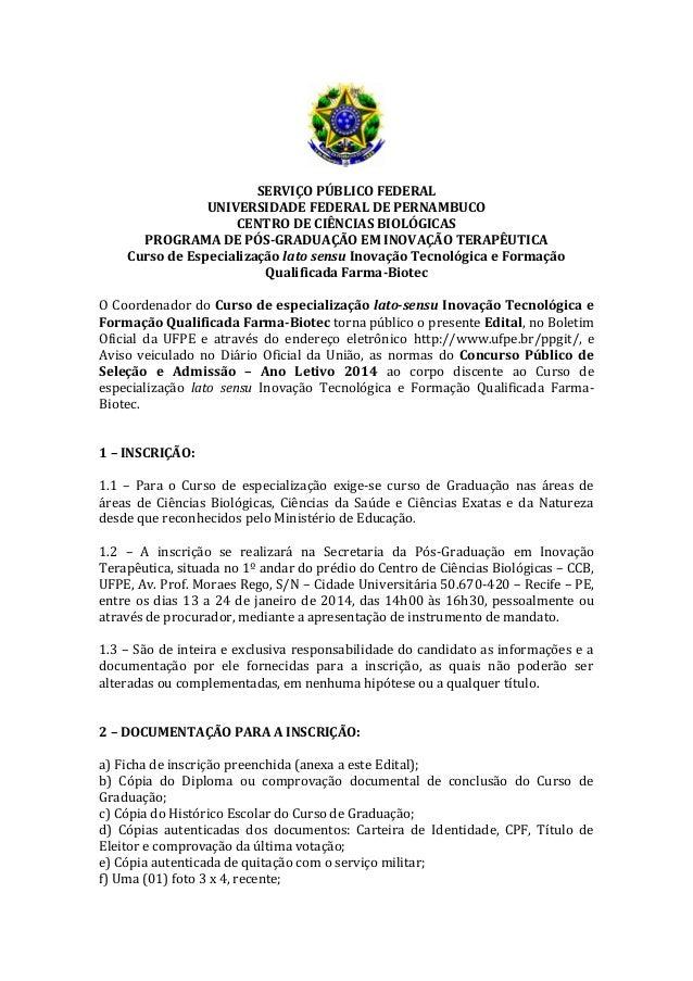 Edital selecao   farma biotec novartis 2014.1-3