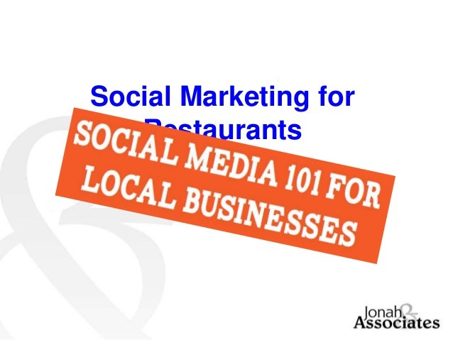 Social Marketing for Restaurants