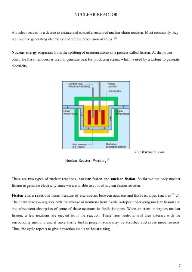 term paper nuclear energy