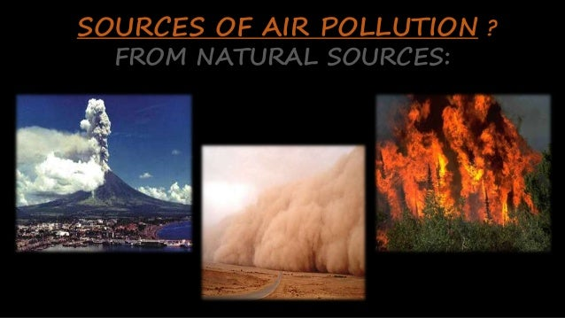 air pollution anthropogenic and natural sources Influence of natural and anthropogenic sources on pm10 air concentrations in spain keywords: air pollution, pm10, pah, anthropogenic sources, anions, cations.