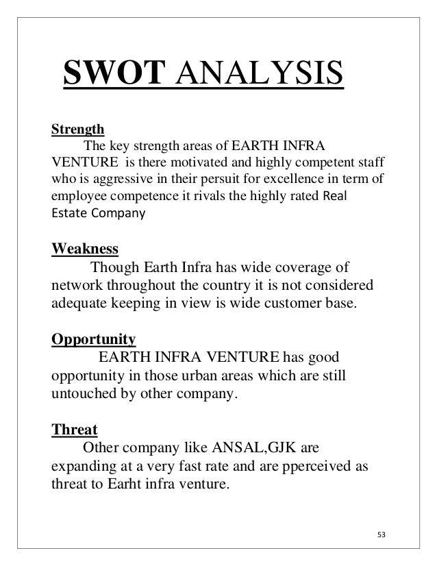Swot analysis essay example
