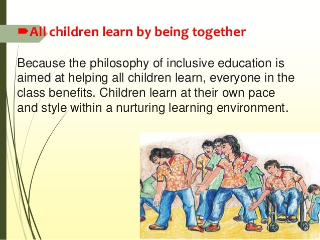 importance of inclusive education pdf