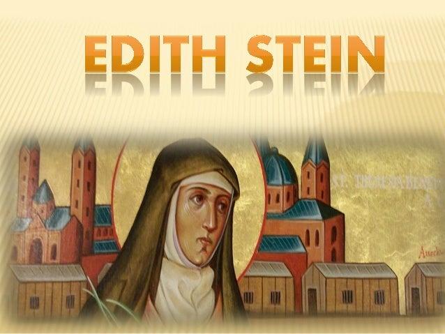 Nome completo: Edith Theresa Hedwing Stein Nascimento: 12 de outubro de 1891, em Breslávia, Alemanha Morte: 9 de agosto de...