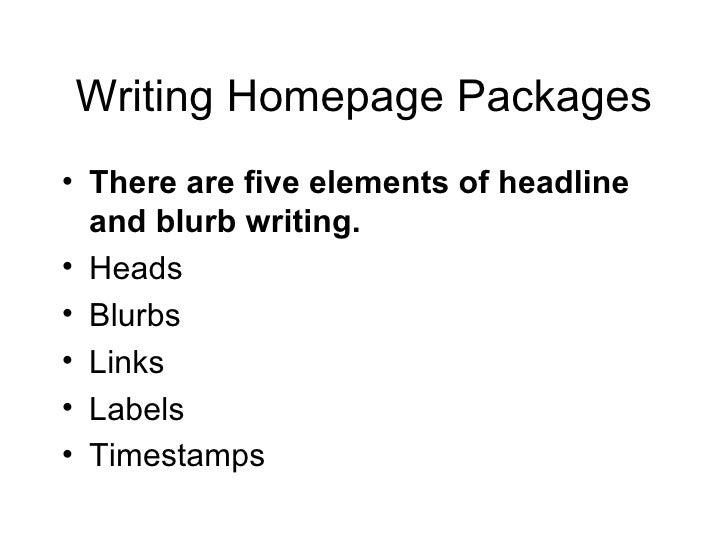 Online editor writing