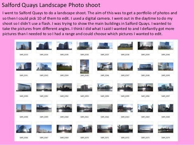 Landscape Photoshoot
