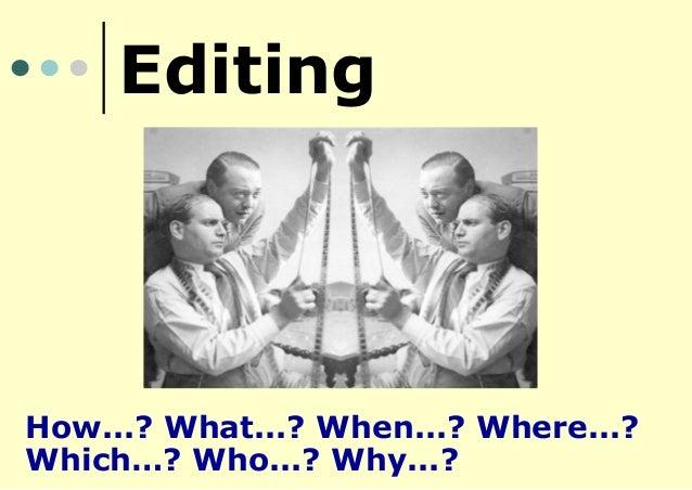 Editing Presentation