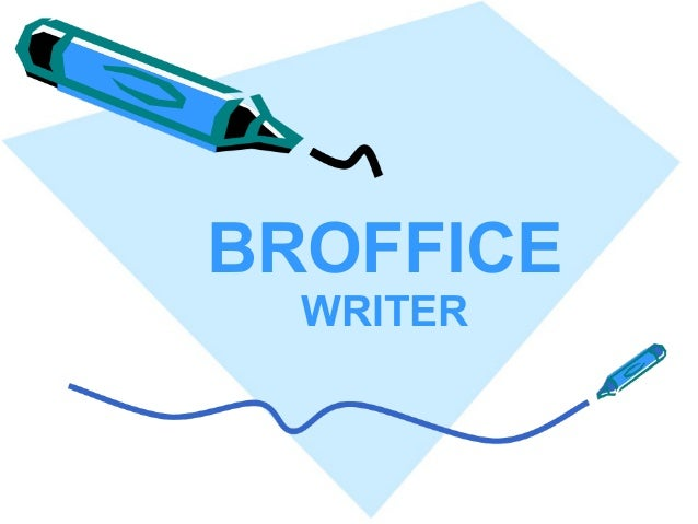 BROFFICE WRITER