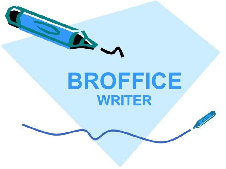 Editor de Texto - Writer