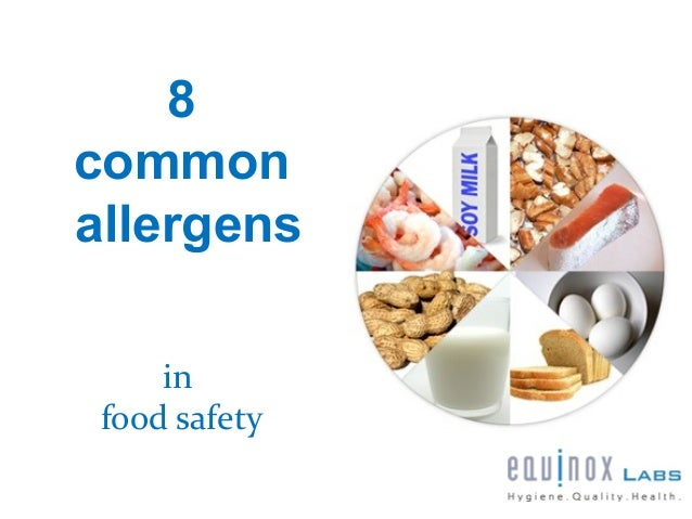 8commonallergens     in food safety