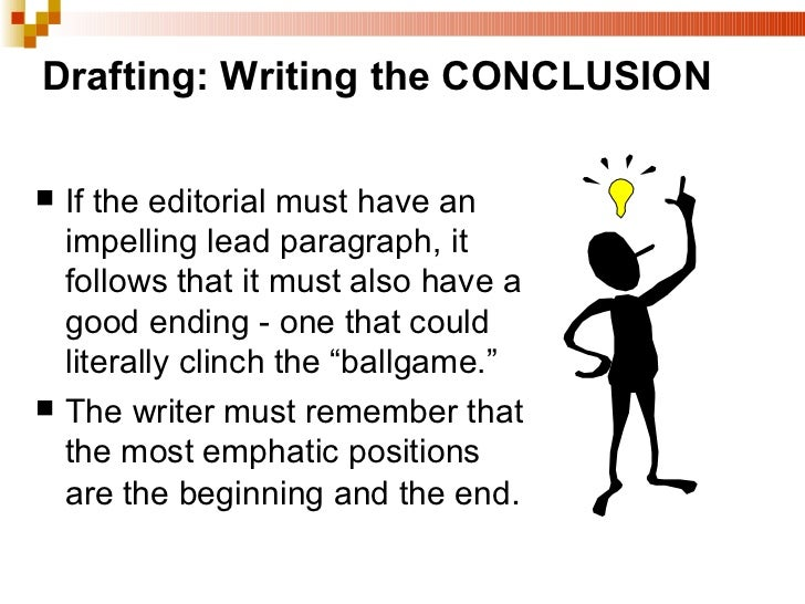 Help me write a conclusion? any decent wrters out there plz help!!?