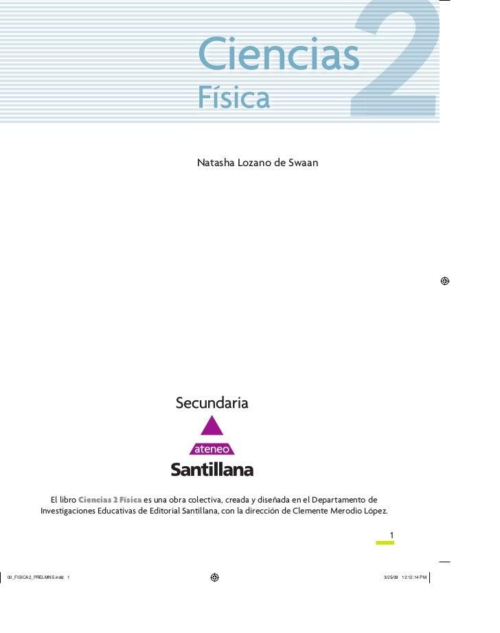 Editorial santillana ciencias II
