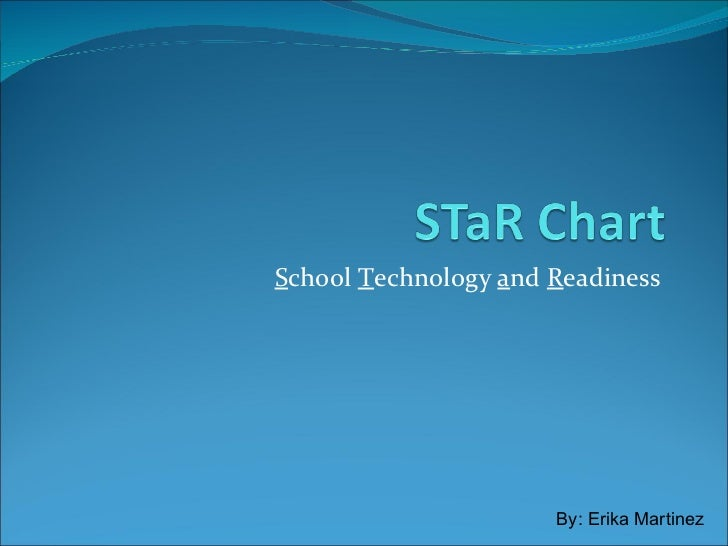 STaR Chart<br />School Technology and Readiness <br />   By: Erika Martinez<br />