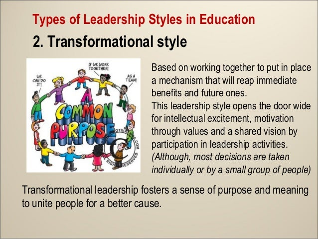 transformational leadership in teaching The goals of transformational leadership  how to teach better transformational leaders  transformational leadership and teachers' own.