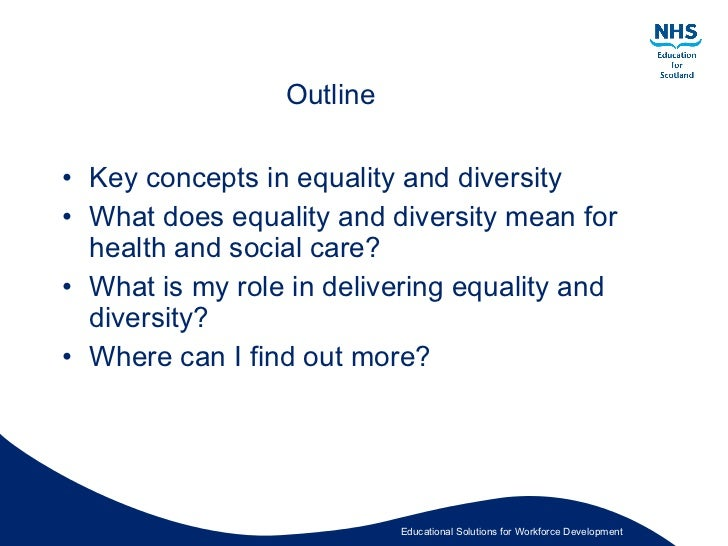 Health and Social Care - defining what rights mean?