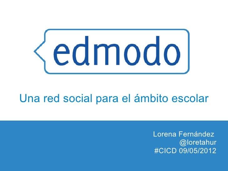 Edmodo. Una red social para el ámbito escolar