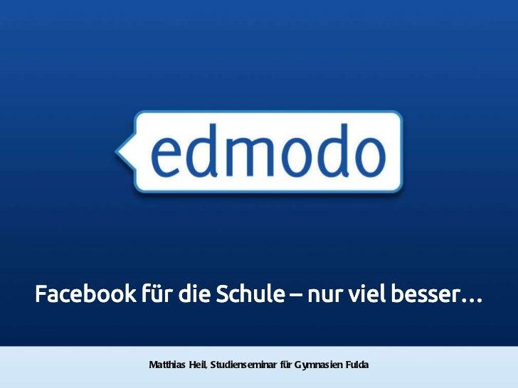 Matthias Heil, Studienseminar für Gymnasien Fulda Investor Introduction, Q2 2010