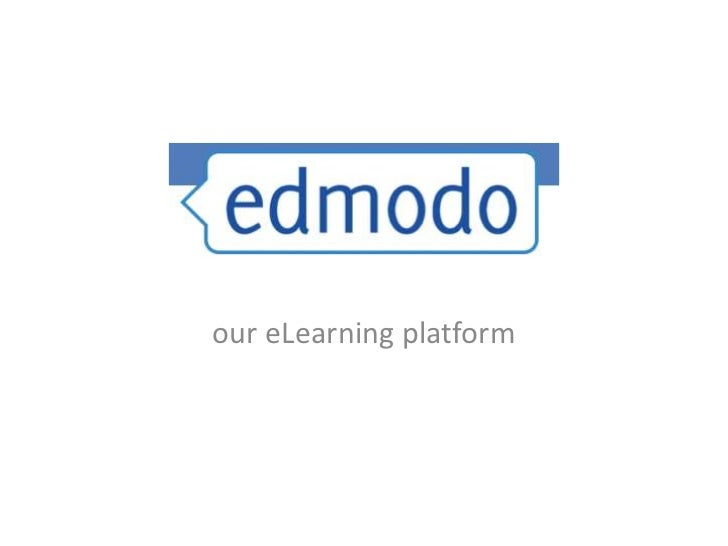 our eLearning platform<br />