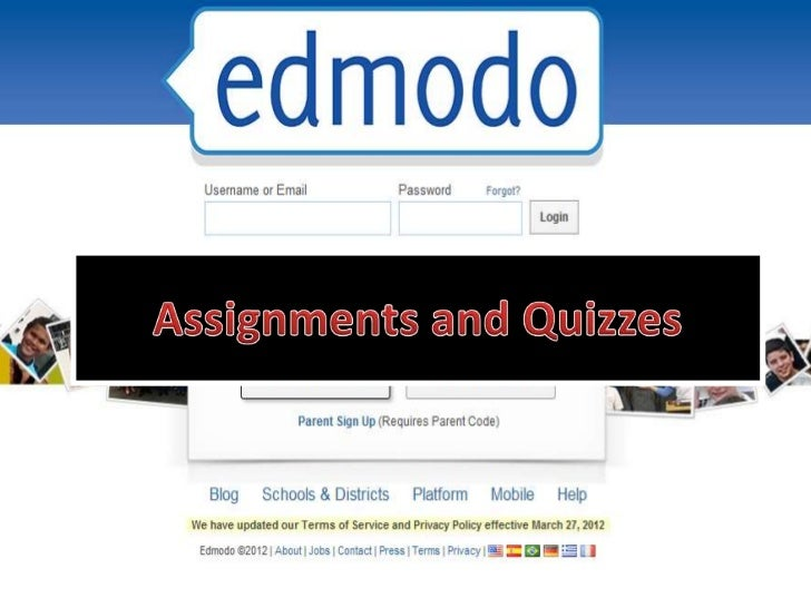 Edmodo training 5 - assignments and quizzes