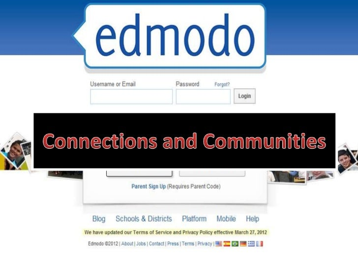Edmodo training 6 -  connections and communities