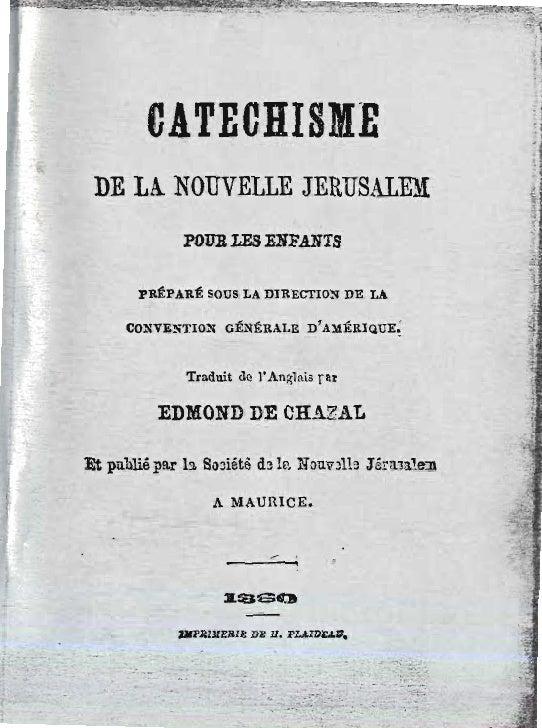 Edmond de-chazal-2sur4-catechisme-de-la-nouvelle-jerusalem-1860-pamphlets-rev-pierre-le brun-ile-maurice