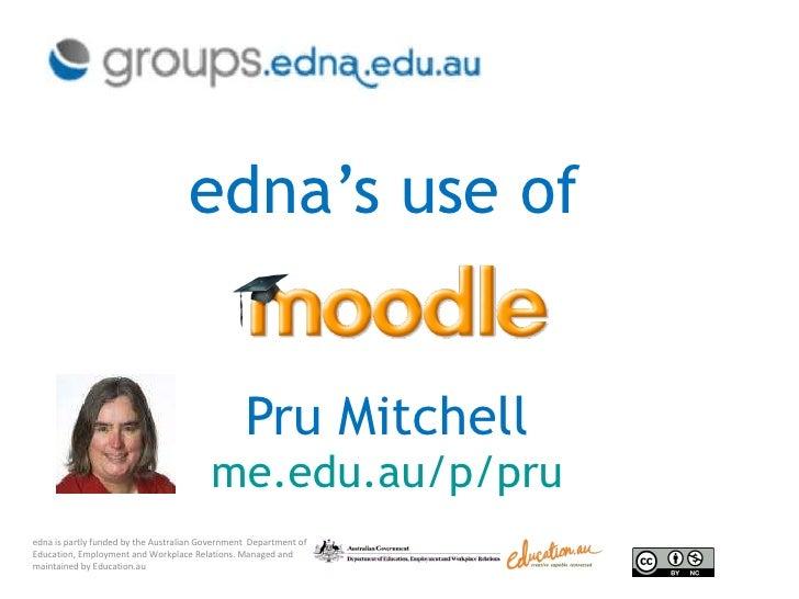 edna uses Moodle