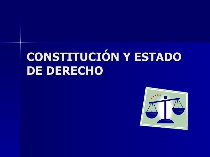 EstadoDerechoyConstitucion