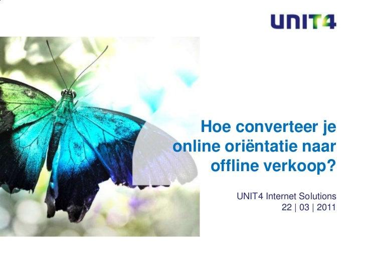 UNIT4: Presentatie Emerce Eretail