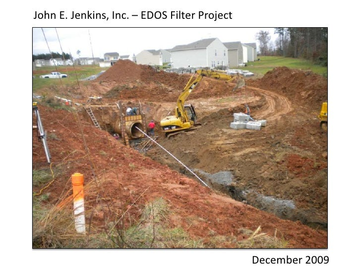 John E. Jenkins, Inc. – EDOS Filter Project<br />John E. Jenkins, Inc. is a general contractor licensed in NC and SC speci...