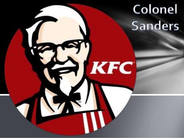 Edp ppt Colonel Sanders KFC