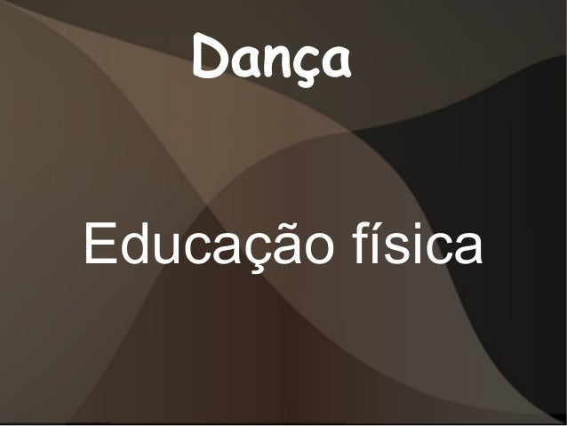 Dança Educação física