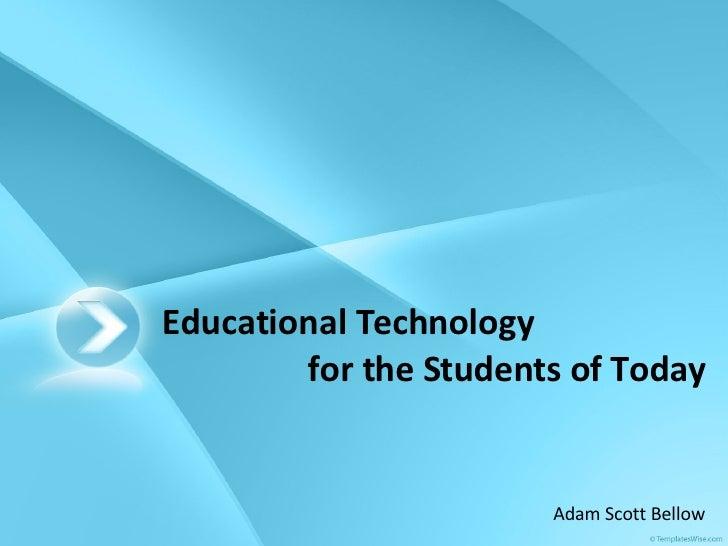 Educational Technology - May 2008