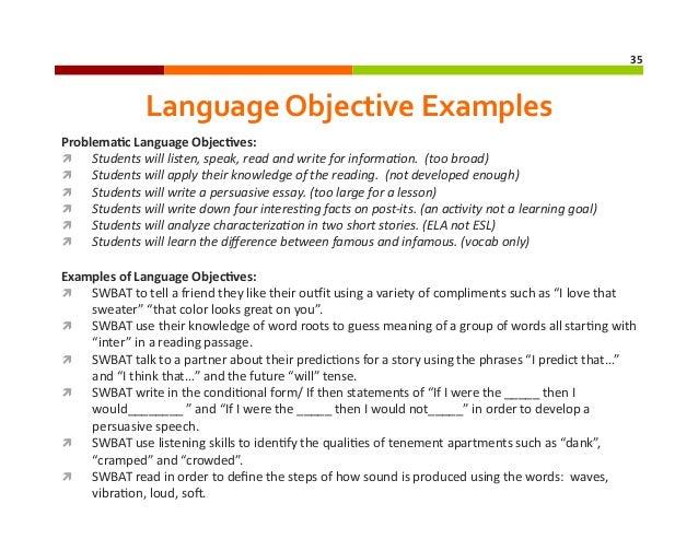 Edtpa Online Module 6 Addressing English Language Learners