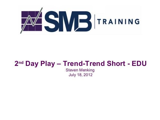 2nd day play presentation - The PlayBook Webinar Series