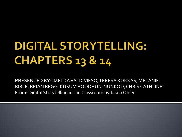 EDU2400 Digital Stories Part 7