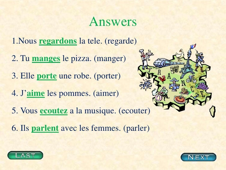 Image gallery ecouter conjugation for Porte french conjugation