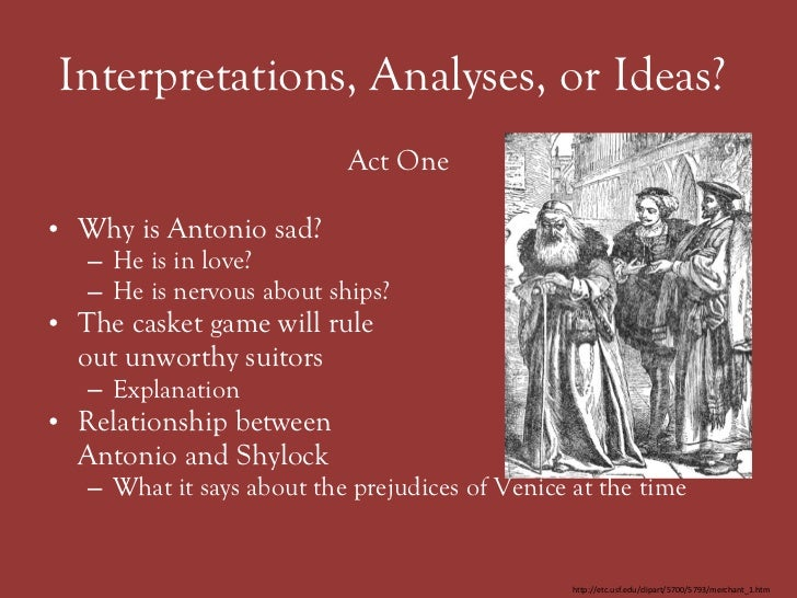 literature essay merchant of venice