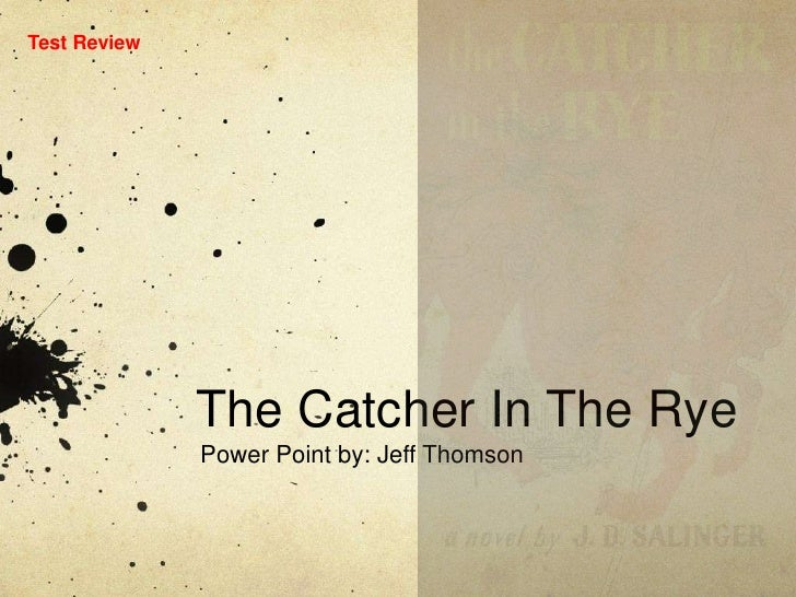 E D U 290  The  Catcher In The  Rye