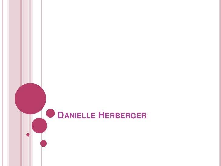 Danielle Herberger<br />