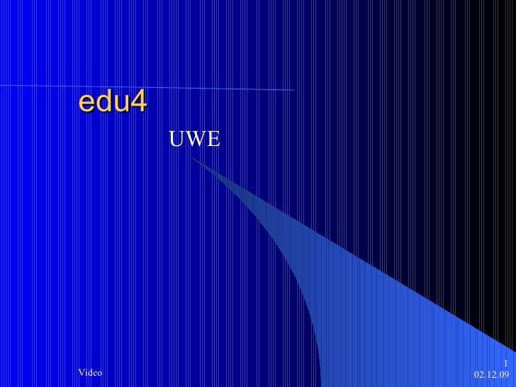 edu4 UWE