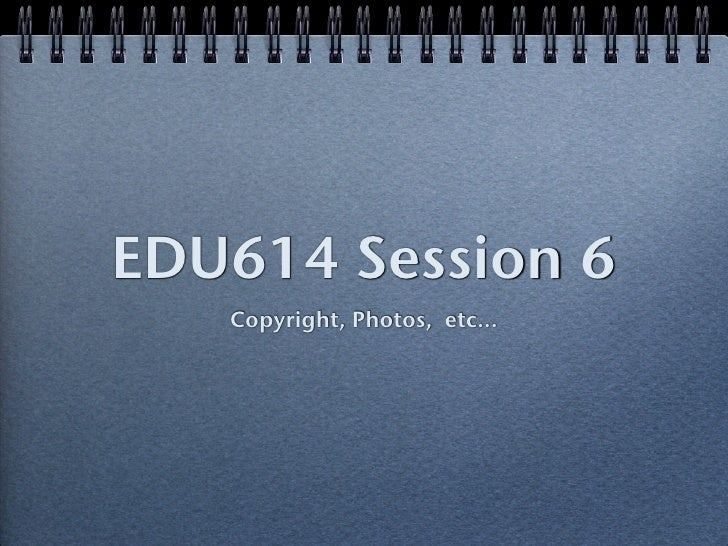 Edu614 session 6 SF 12