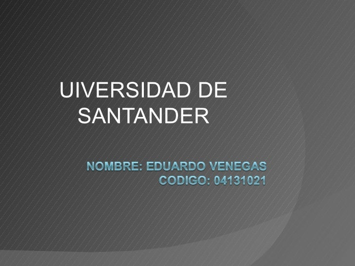 UIVERSIDAD DE SANTANDER