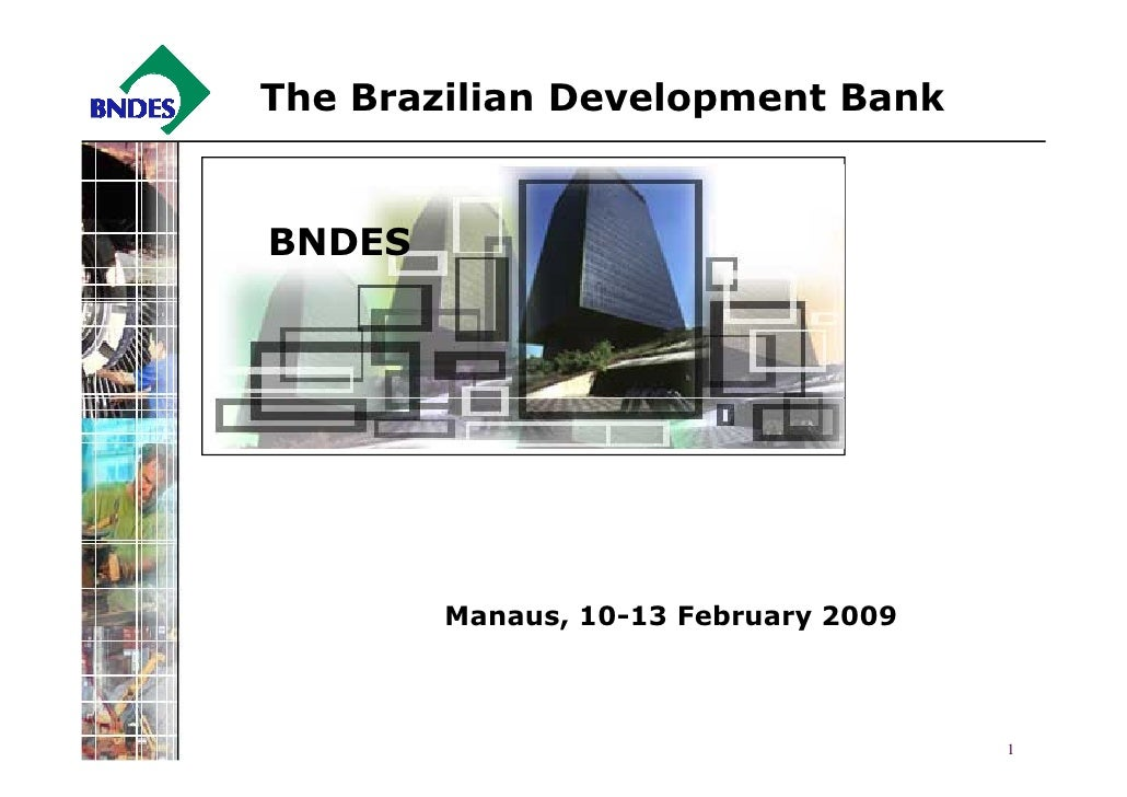 The Brazilian Development Bank   BNDES             Manaus, 10-13 February 2009                                          1