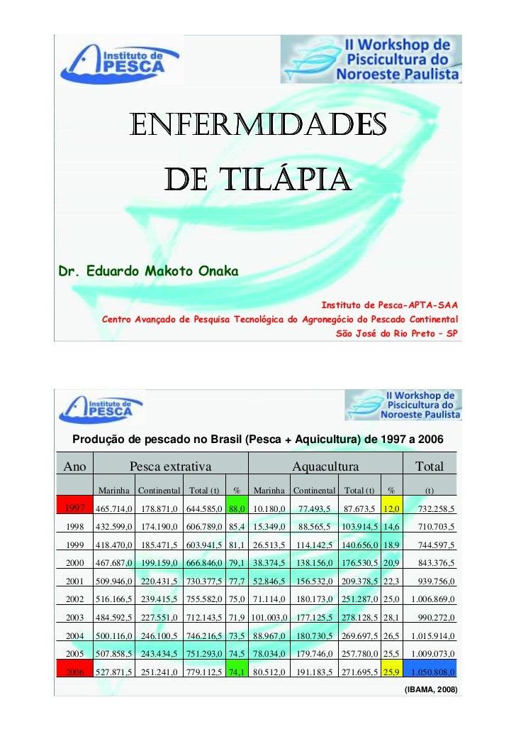 Enfermidades de tilápia