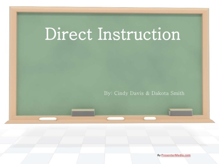 Direct Instruction - PowerPoint Presentation